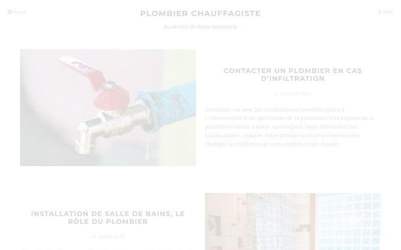 Plombier chauffagiste - Au service de votre tuyauterie