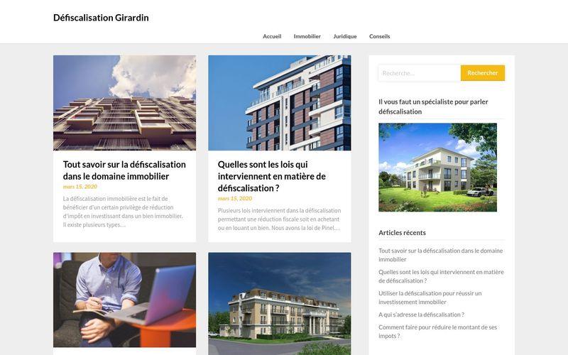 Défiscalisation Girardin - Le site des spécialistes de la défiscalisation